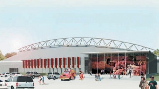 Football Facility  550x309