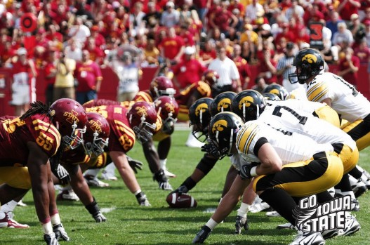 ISU vs Iowa lines 527x349