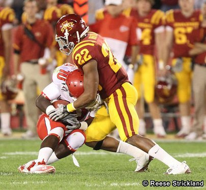 TerRan Benton tackle vs Utah